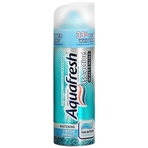 Aquafresh Iso-Active Whitening Toothpaste from Smilox.com