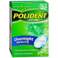 Overnight Whitening Denture Cleaner
