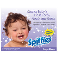 Baby Tooth Wipes - Natural Grape Flavor