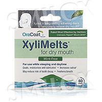 XyliMelts for Dry Mouth - Mint Free