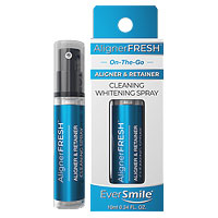 AlignerFresh Clear Aligner & Retainer Cleaning Whitening Spray