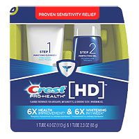 Pro-Health HD Two-Step Daily Toothpaste System